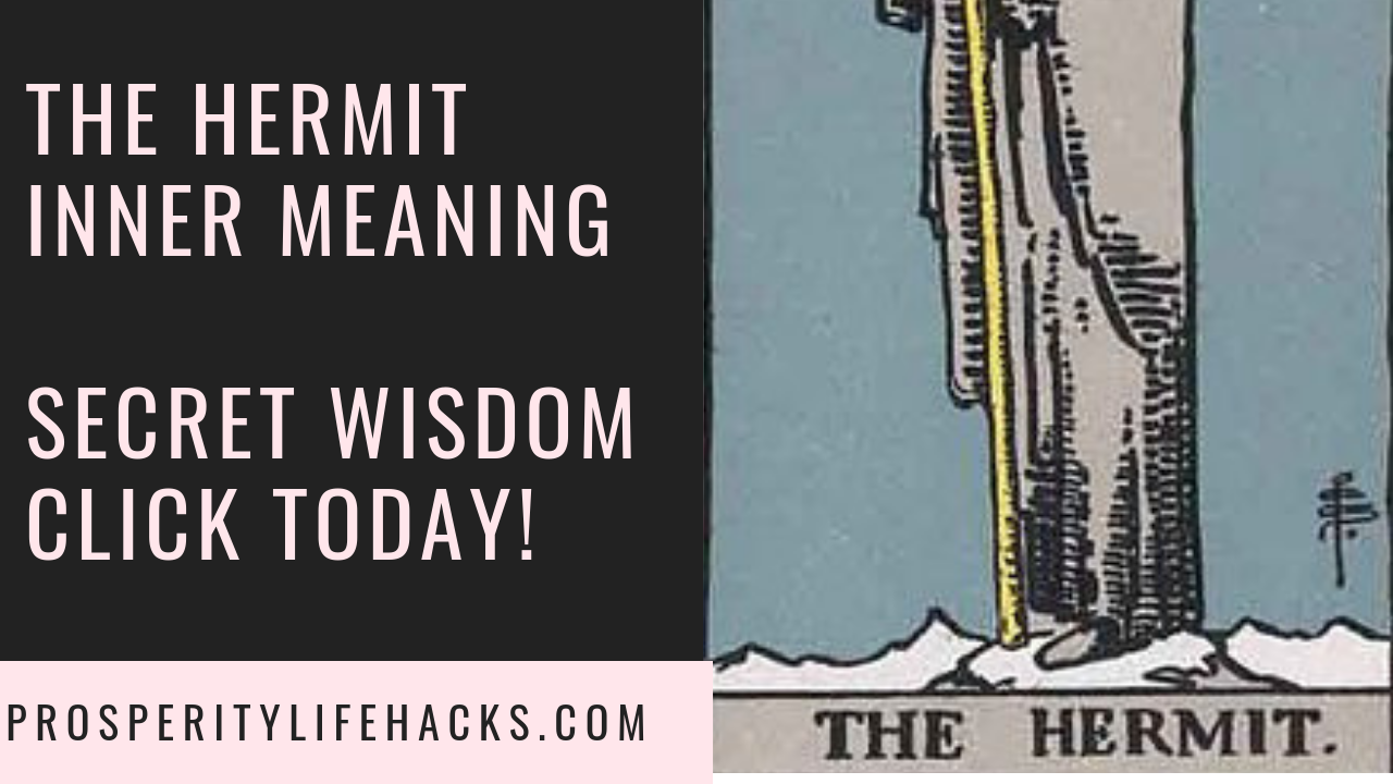 The Hermit Tarot Card | Gerardo Morillo | Prosperitylifehacks.com